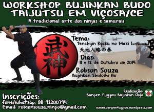 Workshop de Bujinkan Budo Taijutsu em Viçosa (CE) c/ Robson Souza (Bujinkan Shidoshi-Ho)